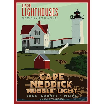 Classic Lighthouses 2020 Calendar: The Graphic Poster Art of Alan Claude