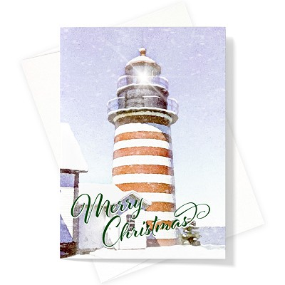 West Quoddy Lighthouse Boxed Greeting Cards