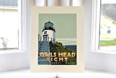 Owls Head Lighthouse <br> 8