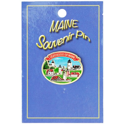 Lighthouses of Maine Pin