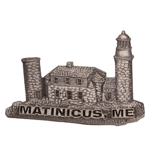 Matinicus Rock Lighthouse Pin