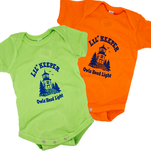 Lil' Keeper Onesie - Owls Head Light