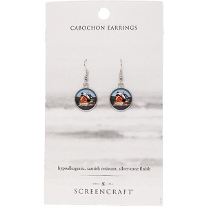 Rockland Breakwater Lighthouse Earrings