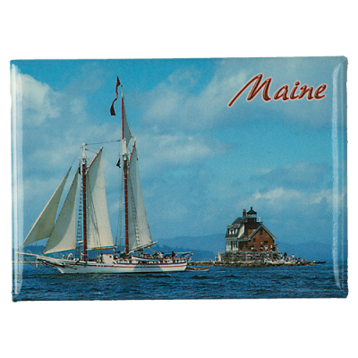 Rockland Breakwater Lighthouse Magnet