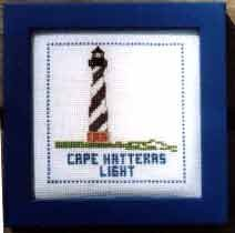 Lighthouse Counted Cross-stitch Kits - Cape Hatteras Light