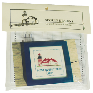 Lighthouse Counted Cross-stitch Kits - West Quoddy Head Light