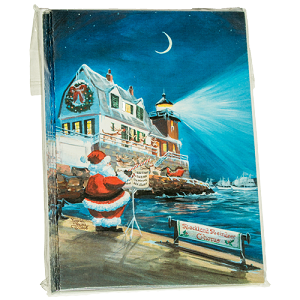 Rockland Breakwater Lighthouse Christmas Cards