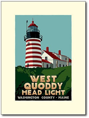 West Quoddy Lighthouse - 18x24 Limited Edition Print