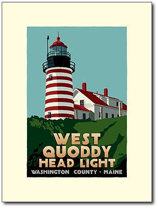 West Quoddy Lighthouse <br>18