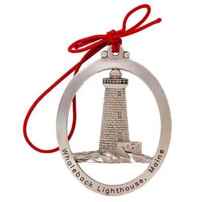 Whaleback Lighthouse Ornament